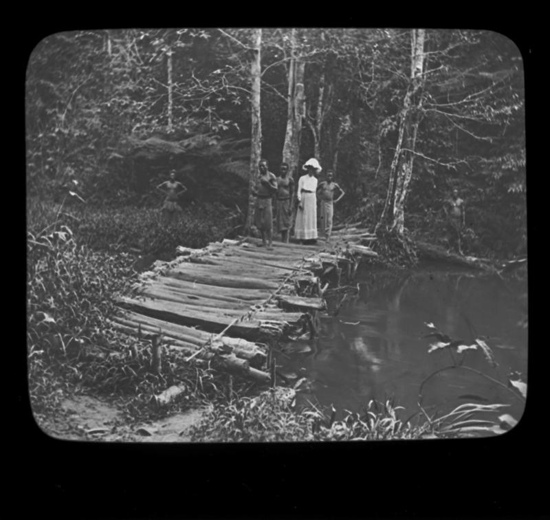 Alice Seeley Harris Crossing the Bridge