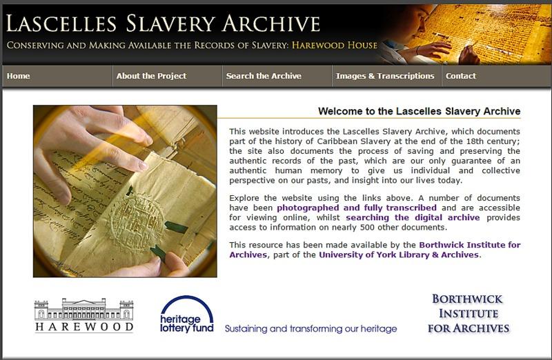 Lascelles Slavery Archive
