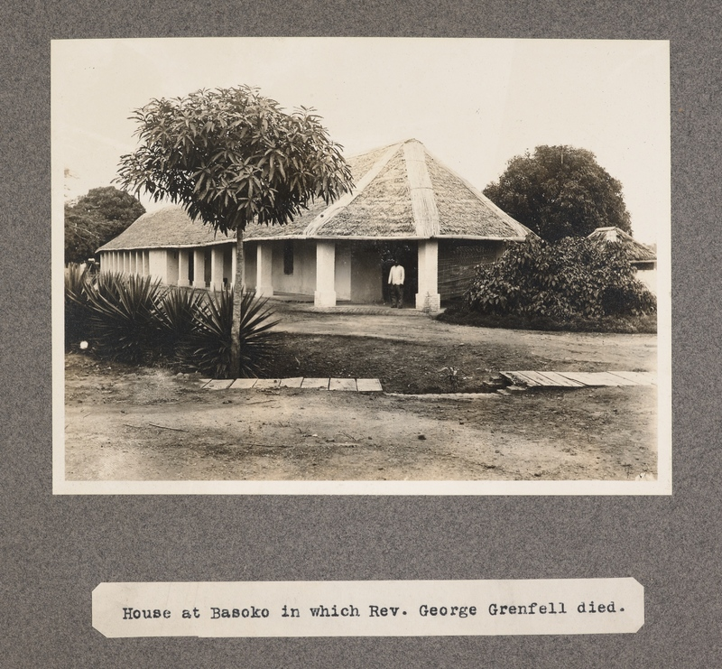 House at Basoko in which Rev. George Grenfell died