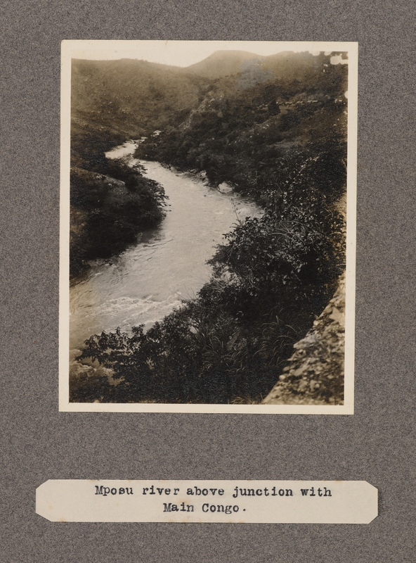 Mposu River above junction with main Congo