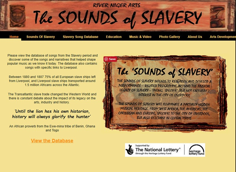 The Sounds of Slavery