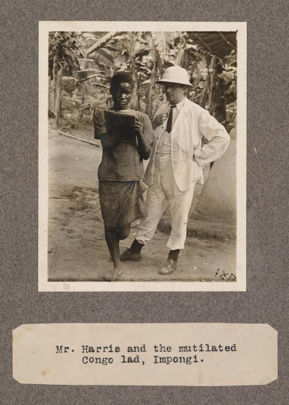 Mr Harris and the mutilated Congo lad, Impongi