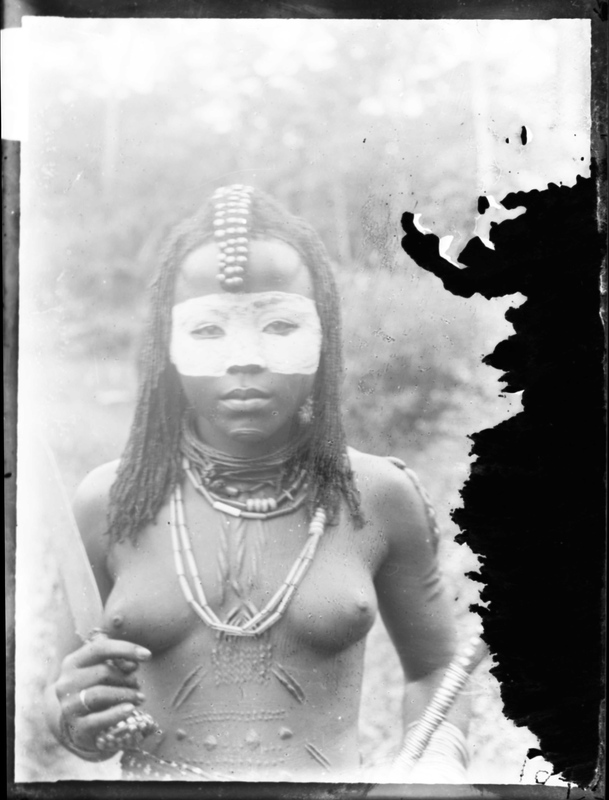 African Woman Described as a Witch