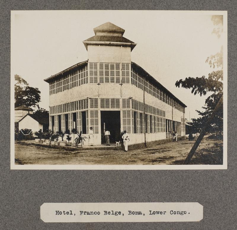 Hotel, Franco Belge, Boma, lower Congo