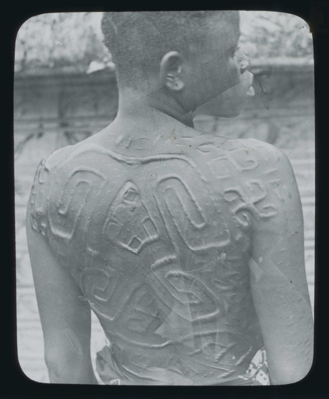 African Woman with Traditional Scarification