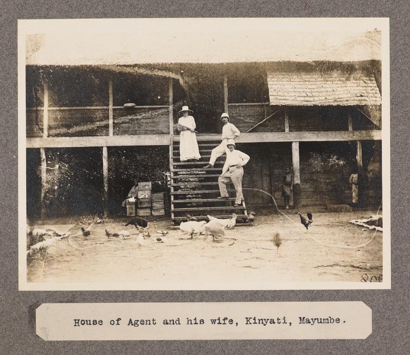 House of Agent and his wife, Kinyati, Mayumbe.