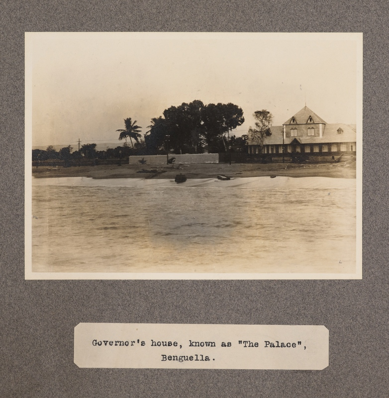 """Governor's house known as """"The Palace"""", Benguella"""