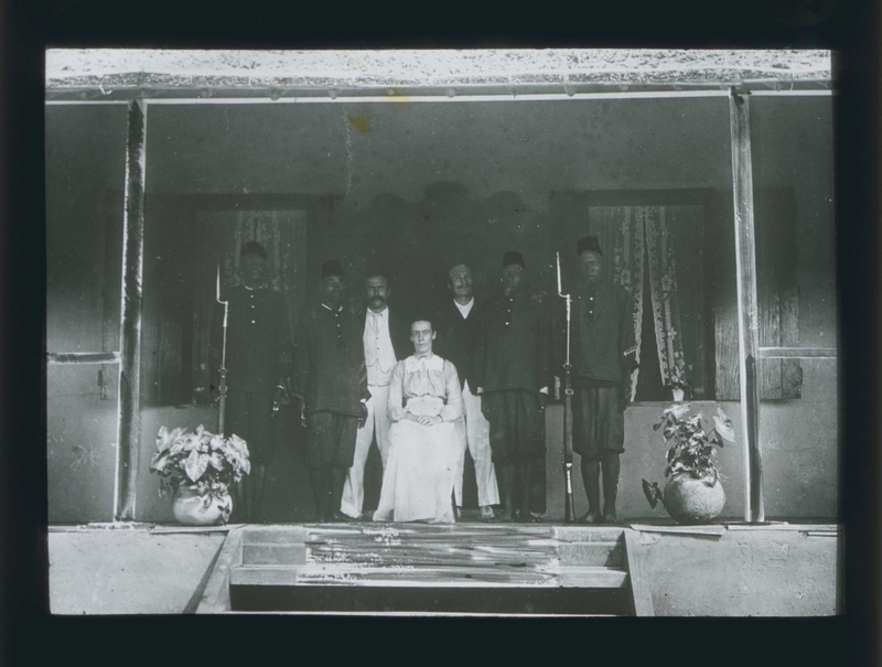 Alice Seeley Harris, John Harris and Rev. Edgar Stannard