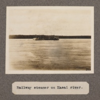 Railway steamer on Kasai River
