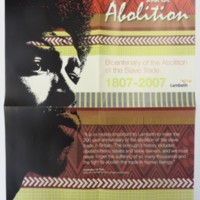 2007 Lambeth and the Abolition Poster Front.jpg