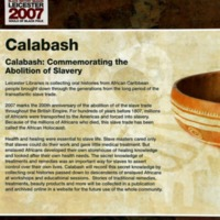 2007 Calabash from Leicester Black History Season.png