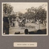 Native market in Loanda