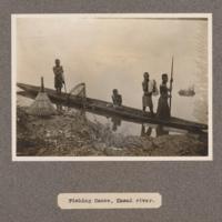 Fishing canoe, Kasai River