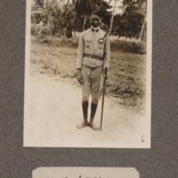A San Thomé policeman