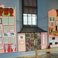 2007 Penrhyn Castle exhibition Mavisville and Llanllechid schools.jpg