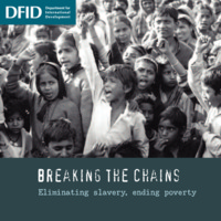 Breaking the Chains: Eliminating slavery, ending poverty