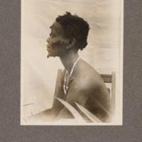 Mongo woman at Bokeri, Baringa – Lopori District, upper Congo