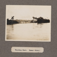 Wooding Post. Kasai River