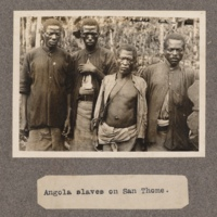 Angola slaves on San Tomè