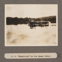 S. S. Hemptinne on the Kasai River