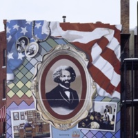 G. Byron Peck, Frederick Douglass, 12th St at Massachusetts Ave NW, Washington DC, 1995 [destroyed 2002].jpg