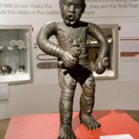 2007 Bristol BECM A statue of rebel leader Cuffy dominates the Abolition Gallery.jpg