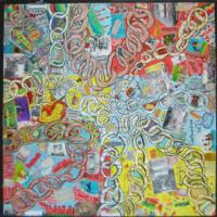 2007 Penrhyn Castle exhibition llanllechid chains artwork.jpg