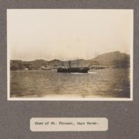 View of St. Vincent, Cape Verde