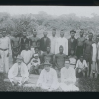 John Harris, Alice Seeley Harris and Rev. Edgar Stannard with Congolese.jpg