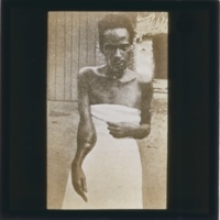 Photo of African Man, taken by W.D. Armstrong