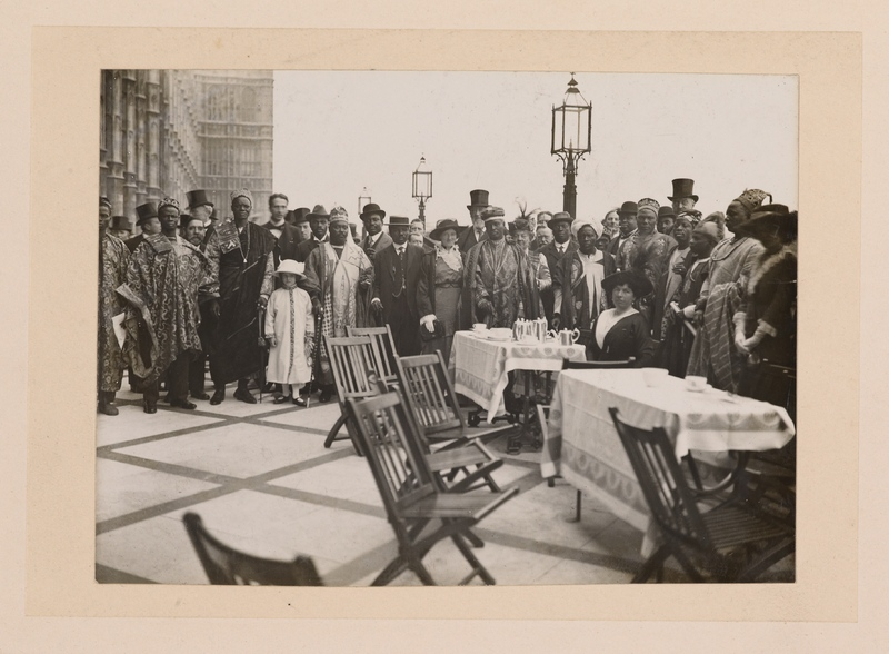 No caption [anti-slavery delegation to London?]