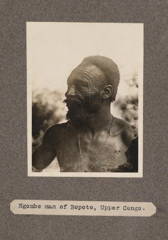 Ngombe man of Boputo, upper Congo