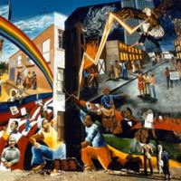 Mary Patten, Douglass Street Mural, 389 Douglass St, Brooklyn, NY, 1976 [destroyed 1989].jpg