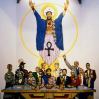 Maurice Myron, Last Supper, Union Temple Baptist Church, 1225 W. Street SE (Black Neighborhood), Washington, DC, 1990.jpg