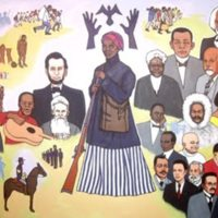 Wilfred Stroud, From Africa to America, Tubman African American Museum, Macon, Georgia, 1988.jpg