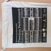 2007 Remembering Slavery Freedom Performance Bag.JPG